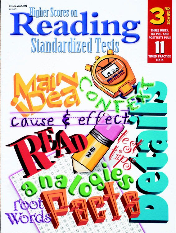 HARCOURT SCHOOL SUPPLY SV20575 HIGHER SCORES READING TESTS GR. 3