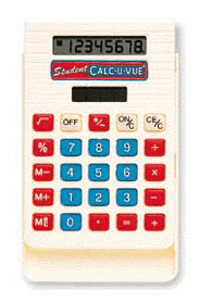 LEARNING RESOURCES LER0059 BASIC STUDENT CALC-U-VUE 10-PK-3-1/4W X 4-5/8H