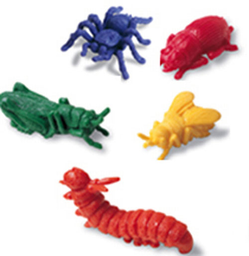 LEARNING RESOURCES LER0457 COUNTERS BACKYARD BUGS 72-PK EDRE4836