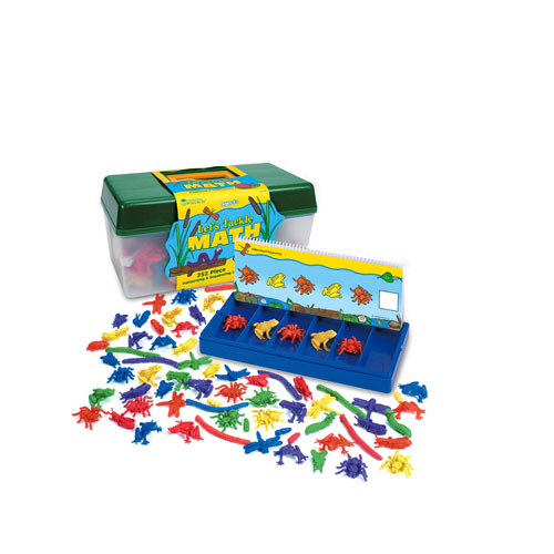 LEARNING RESOURCES LER0223 TACKLE BOX SORTING SET EDRE5252