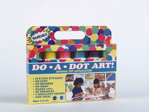 Do-A-Dot Art DAD103 Do-A-Dot Art Washable Markers Brilliant - 6 Pack EDRE552