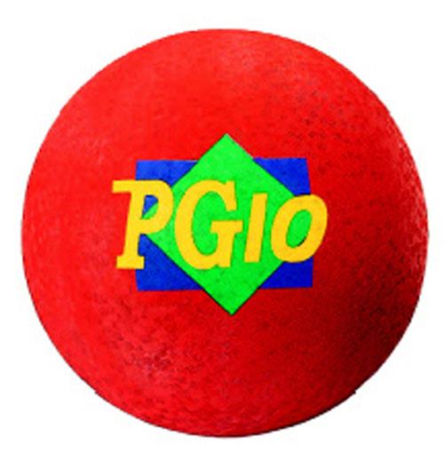 Dick Martin Sports MASPG10R 10 Inch Play Ground Ball - Red