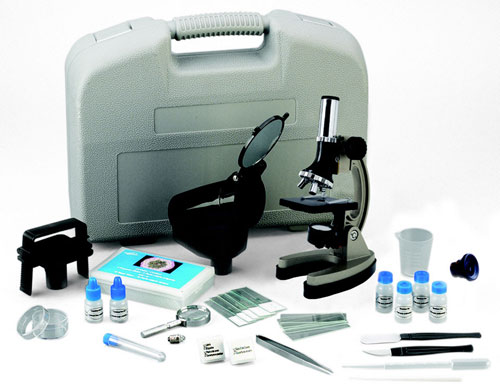 EDUCATIONAL INSIGHTS EI-5302 DELUXE CLASSROOM PROJECTING MICRO-GR. 4 AND UP MICROSCOPE SET