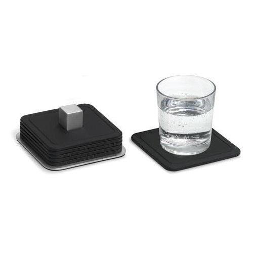 Blomus 68445 4cmx9.5cmx9.5cm Trayan Coasters - Set of 6