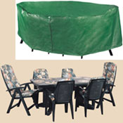 Bosmere B335 Rectangular Patio Set Polyethylene Cover at Sears.com