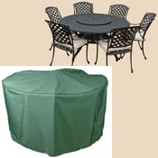 Bosmere C523 108 Inch Round Table and Chairs Polyethylene Cover at Sears.com