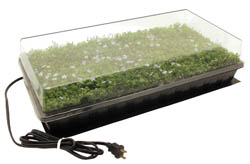 Hydrofarm Germination Station  with heat Mat 72cell 2 Inch  Dome