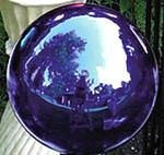 "Echo Valley RSR8100 10"" Blue Gazing Globe"