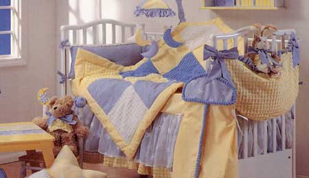 Celebrations 1210 Starlight 4 Pc Set In Blue/ Yellow