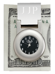 Chass 80397 Financier Money Clip Clock
