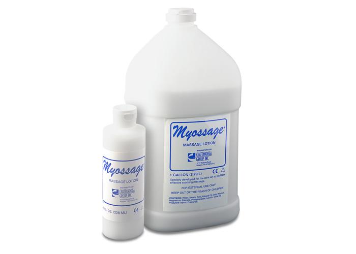 Chattanooga 4208 8.5 oz. (250 ml) Plastic Bottle - 12/case Myossage Lotion