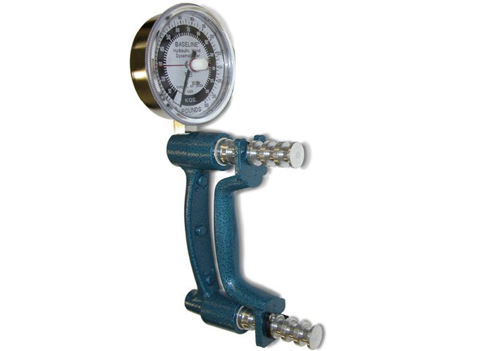 Chattanooga 43050 Hydraulic Hand Dynamometer - 200 lbs. (91 kg) Dial Gauge