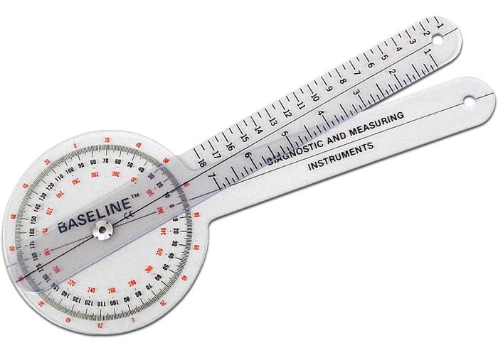 Chattanooga 43058 Plastic 360? ISOM Plastic Goniometer - 12 (30 cm)