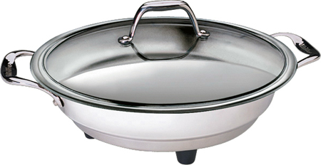 Cucina Pro 1454 Classic Electric Skillet - 16  - Polished Interior at Sears.com