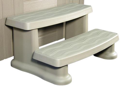 Cover Valet CV0108-Spa Side Step-Warm Grey