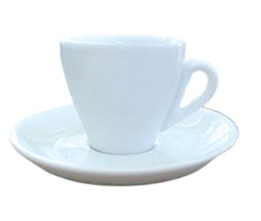 csx732 Cuisinox CUP55 Cappuccino Cup in White Porcelain