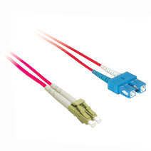 Cables To Go 37355 1m LC-SC DUPLEX 50-125 MULTIMODE FIBER PATCH CABLE - RED CTG057