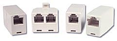 Cables To Go 01919 RJ11 4-PIN MODULAR INLINE COUPLER CROSSED