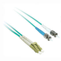 Cables To Go 36121 1m 10Gb LC-ST DUPLEX 50-125 MULTIMODE FIBER PATCH CABLE