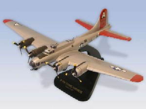 Daron A1372 B-17G Fortress Silver 1/72 AIRCRAFT at Sears.com