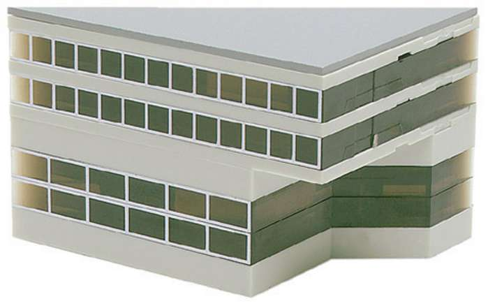 Daron Worldwide Trading  HE519632 Herpa Airport - Low Side Building