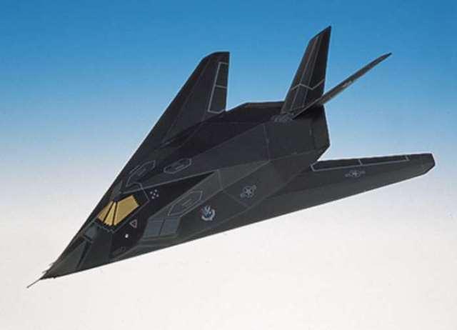 Daron Worldwide Trading BJR0872 F-117A Blackjet 1/72 AIRCRAFT