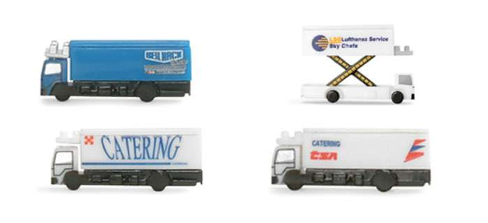 Daron Worldwide Trading  HE520577 Herpa Catering Vehicles 1/500