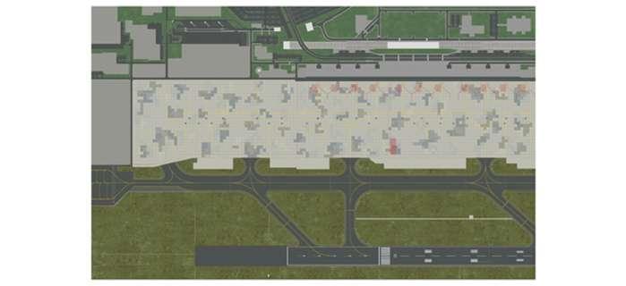 Daron Worldwide Trading  HE570213 Herpa Airport Foil 1/1000