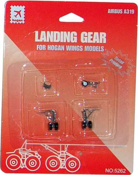 Daron Worldwide Trading  HG5262 Hogan A319 Gear with Imprints 1/200