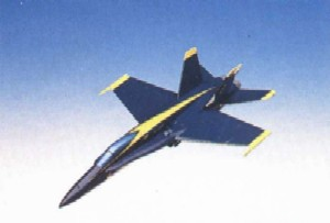 Daron Worldwide Trading C1848F33P F-18A Usn Blue Angel 1/48 AIRCRAFT