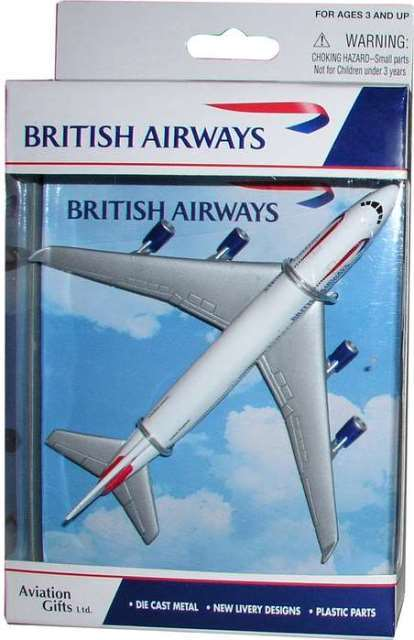 Daron Worldwide Trading RT6004 British Airways Single Plane DARON4102