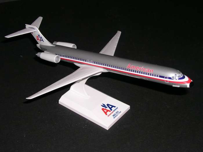 Daron Worldwide Trading SKR087 Skymarks American Airlines MD80 1150