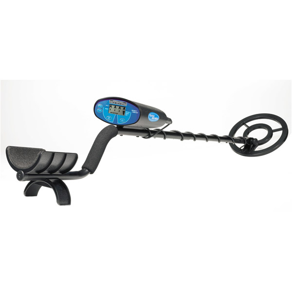 Bounty Hunter QUICKSILVER Quicksilver Metal Detector with LCD Display