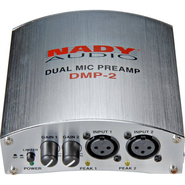 Nady DMP-2 DMP-2 Dual Microphone Pre-Amp