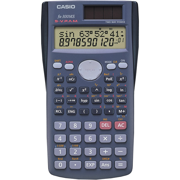 Casio FX-300MS Student Scientific Calculator