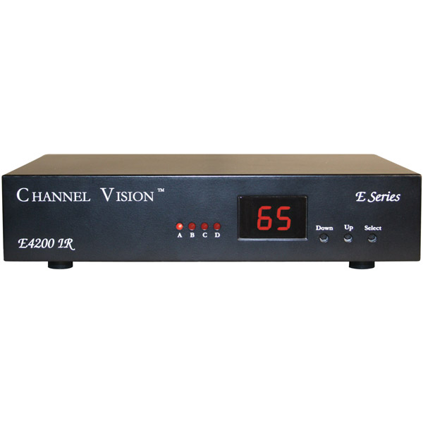 Image of Channel Vision E4200IR Digital Modulator with Built-In IR Engine and LED Channel Display