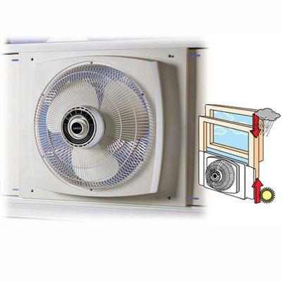 Lasko Products 2155A 16    Reversible Window Fan