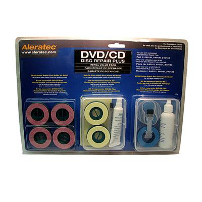 Aleratec Inc 240138 DVD/CD Disc Repair Plus Refill