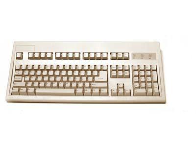 Keytronic Inc. E03601U1 USB Cable Keyboard Beige