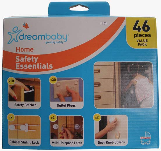 DreamBaby L7011 Home Safety Value Kit - 46 pieces
