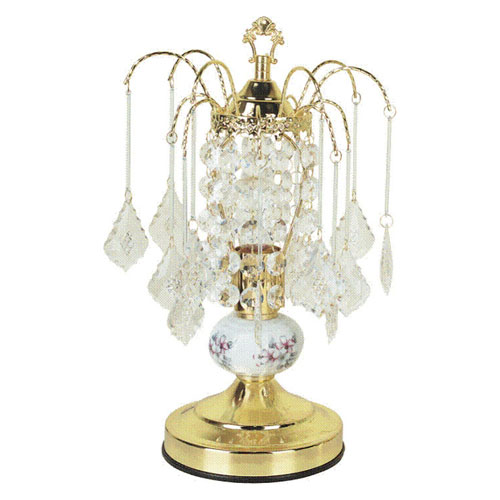 00ore3053 Ceramic Touch Accent Lamp - Gold