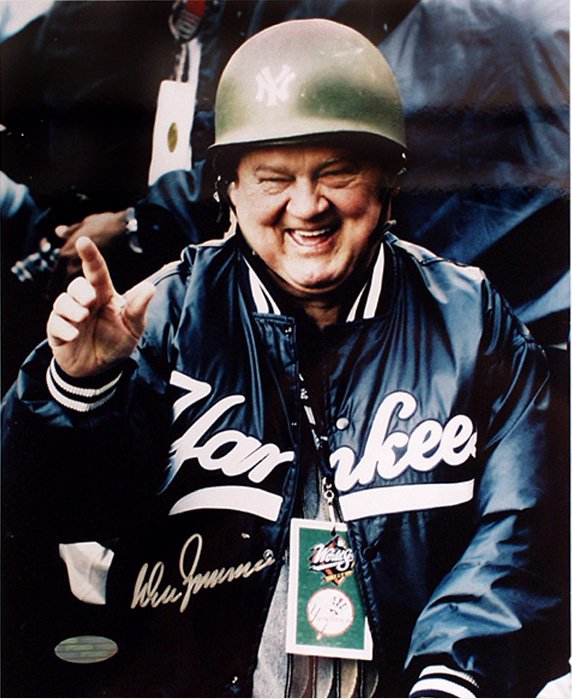 Hard Hats - Steiner Sports ZIMMPHS016000 Don Zimmer Hand Signed Hard Hat 16x20 Photograph