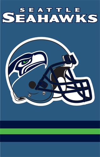 The Party Animal AFSE AFSE Seahawks 44x28 Applique Banner