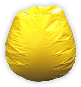 Bean Bag Boys BB-10-YELLOW Bean Bag Yellow