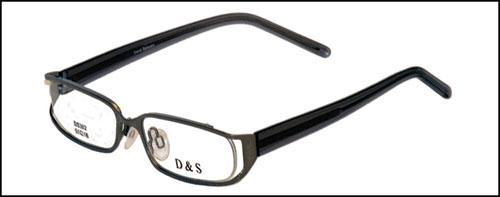 David Samuels Optical ds302-2-Transparent Black-Optical Frames