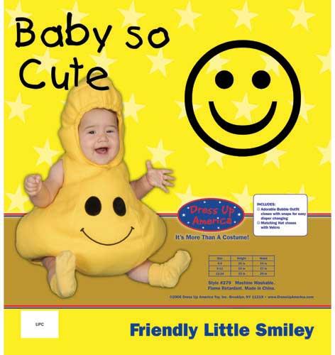 Friendly Little Smiley Costume Set 12-24 279-24M