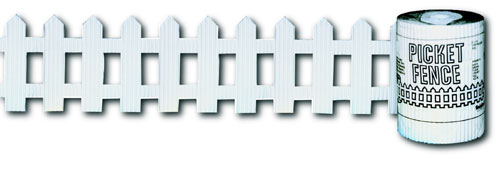 PACON CORPORATION PAC38014 PICKET FENCE ROLL 6 INCHX16  WHITE