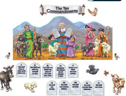 CARSON DELLOSA CD-210003 THE TEN COMMANDMENTS
