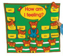 MT & B CORPORATION MTB801 HOW AM I FEELING FABRIC CHART