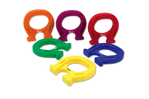 LEARNING RESOURCES LER0790 HORSESHOE-SHAPED MAGNETS SET OF 6